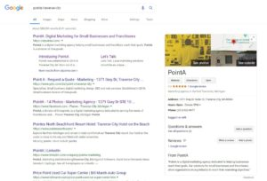 Google Results for PointA Traverse City