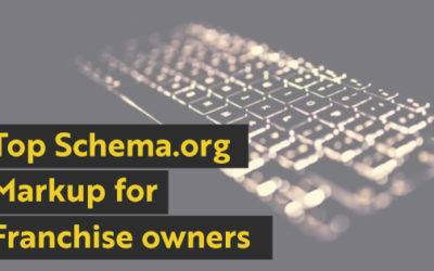Using Service and Local Schema for Your Franchise Business